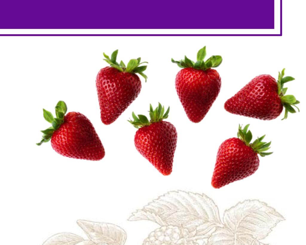 STRAWBERRIES Delicious, beautiful and good for you what could be better than a Naturipe Strawberry?