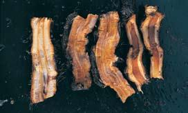 Thick, old woody tissue appears to be less able to produce new growth than crown material or thinner succulent rhizome.