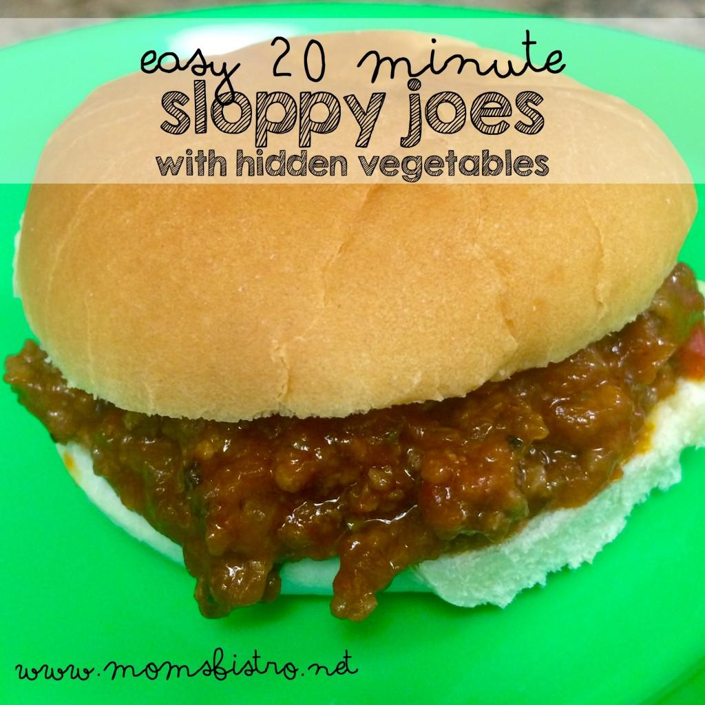 Sloppy Joe s with Hidden Veggies 1 lb ground beef 1, 10oz can tomato soup 1/3 cup bbq sauce ½ yellow onion ½ zucchini ½ green pepper 2 stalks celery 1 tsp salt 1/2 tsp black pepper 1 tsp paprika