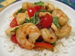 Shrimp Provencal *Submitted by: Susan Matalon Yields: 4 servings Serving Size: about ½ cup shrimp 1 lb jumbo shrimp, deveined, tails removed 1 Lemon, juiced 1 tsp Herb de Provence* Kosher salt and
