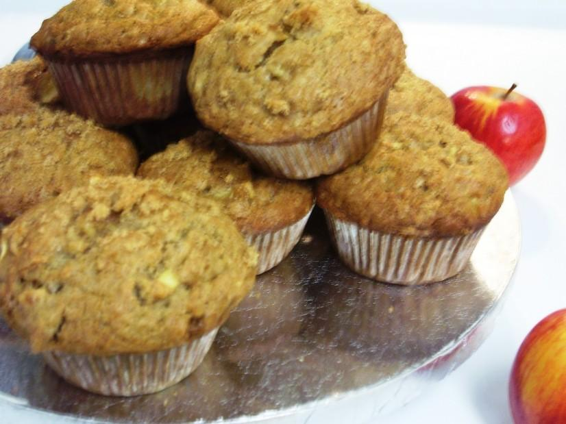 Butternut Apple Muffins Yields: 12 muffins Serving Size: 1 muffin ½ small butternut squash, peeled, seeded, diced ¾ cup brown rice flour ½ cup millet flour ½ cup hazelnut flour ½ tsp sea salt ½ tsp
