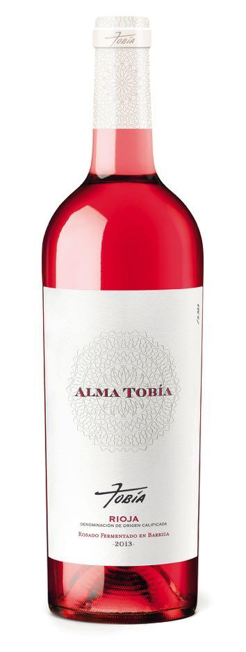 ALMA TOBIA Rosado Fermentado en Barrica 2013 This rosé wine is very original, avant-garde and innovative. We were the first Winery to make a barrel fermented rosé.