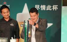 After successfully holding events in Guangzhou and Shenzhen, Heineken continued its Star Serve tour in Shanghai on November 14.