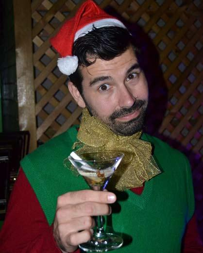 theater Holiday Jeer THE RETURN OF THE MISANTHROPIC ELF BY Andrew Chin Seasonal misery is mined for sardonic comedy in Urban Aphrodite s adaptation of David Sedaris The SantaLand Diaries.
