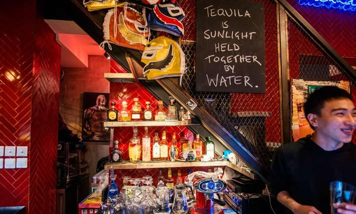 eat / drink NEW RESTAURANT EL LUCHADOR GETTING YONGKANG IN ITS GRIP BY NED KELLY Elliot debruyn DaDAdadaDAdaDAda, DaDAdadaDAdaDA, Tequila! It is time we accepted it.