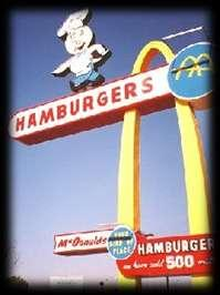 Worlds Oldest McDonald s Worlds Oldest McDonald s This 44 year-old site is the oldest in the worldwide chain