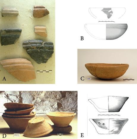 eating at home and dining out? Fig. 9 Bowls from Arslantepe, a c: period VIII (4200 4000 BC); d e: period VII (3900 3400 BC).