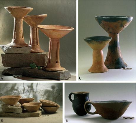 francesca balossi restelli Fig. 11 Examples of consumption vessels from Arslantepe VIA. On the let are those of local tradition, whilst on the right are the Transcaucasian ones.