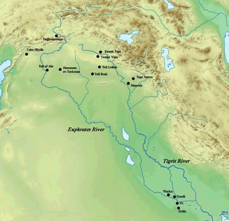 commensality and labor in terminal ubaid northern mesopotamia Fig. 2 Selected Terminal Ubaid Sites in greater Mesopotamia.