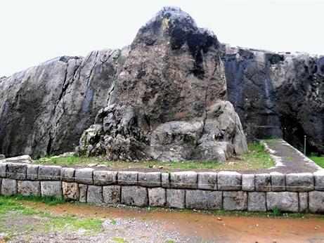 Various such monoliths located throughout the Callejon de Huaylas region of the central highlands of Peru are identified still today by local communities as sacred sites.