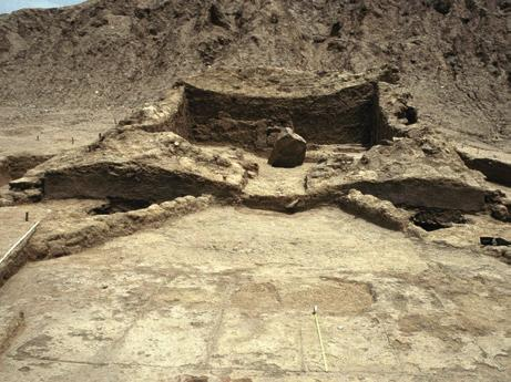ritual commensality between human and non-human persons Fig. 5 Temple of the Sacred Stone at the site of Tucume on the north coast of Peru. Photograph courtesy of Dan Sandweiss.