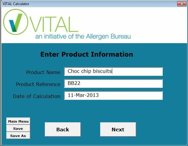 New VITAL Calculator New version more detailed and follows new procedure PDF report Point and