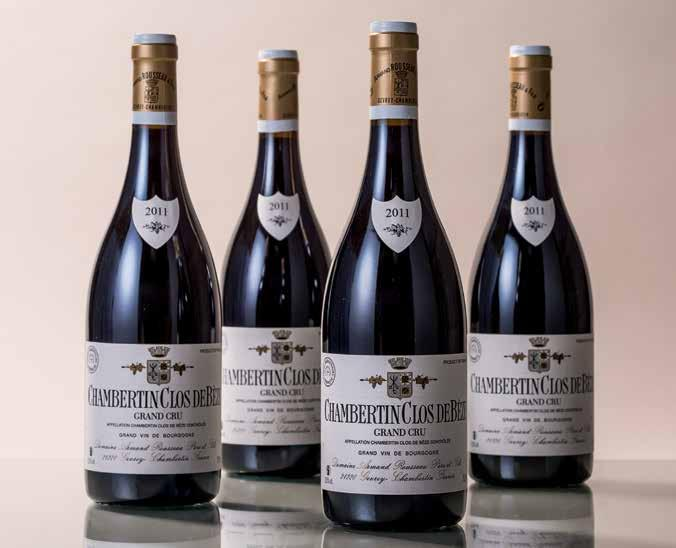 "Chambertin Armand Rousseau 2011 ""...outstanding richness to the powerful and impressively scaled...this is a stunner of a wine and one of the great wines of the 2011 vintage...96."" BH 1/14."
