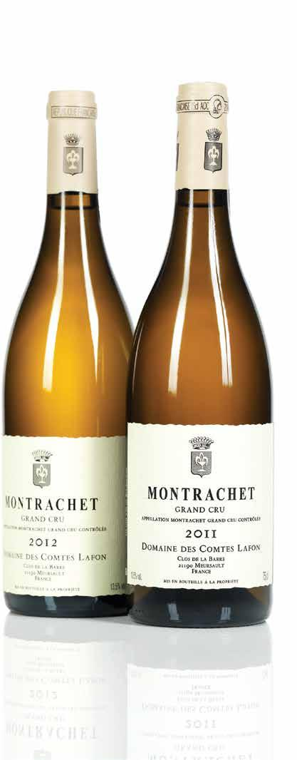 "Comtes Lafon Montrachet Comtes Lafon 2011 ""The palate is extremely well-balanced, pure and focused with orange peel, marmalade, quince and a suggestion of white chocolate."