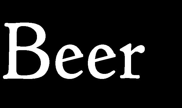 Here at The Petersfield we love beer!