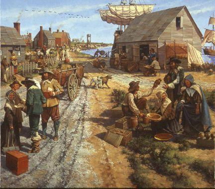 The Virginia Company sent women to Jamestown. Marriage and children became a part of life in the colony.
