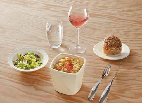 The creative and practical mini range includes two bowls that are perfect for noodles or chips.
