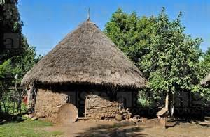 The citizens traded their surplus crops for iron & copper, many miles away. The people lived in circular houses made of bent poles.