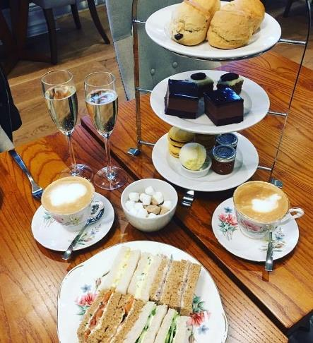 Here at The Yarrow, guests can indulge in one of our traditional afternoon teas, with a selection of the finest freshly made sandwiches, alongside a range of mouthwatering scones, cakes and homemade