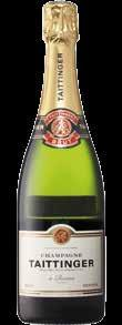 CHAMPAGNE 30 Piper-Heidsieck Brut 39 A classic Pinot Noir dominated Brut Champagne: plenty of freshness with citrus notes, such as grapefruit, followed by Granny Smith green apple, & crunchy, juicy
