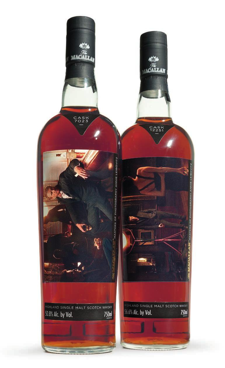 THE MASTERS OF PHOTOGRAPHY 57 The Macallan, The Masters of Photography Annie Leibovitz Edition The Bar & The Gallery