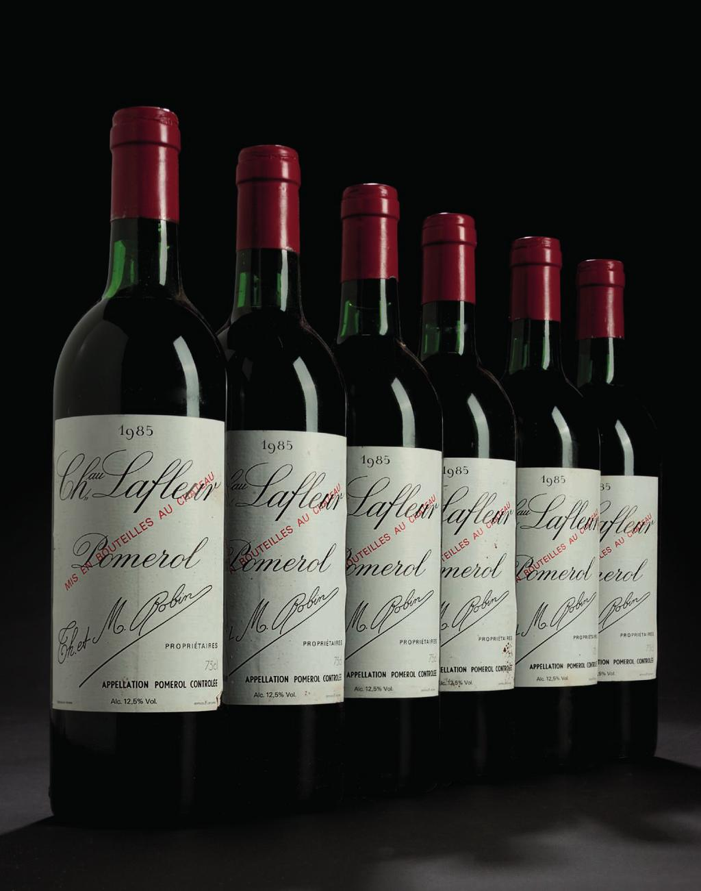 167 Château Lafeur 1985 Pomerol Levels: nine bottom neck, three top shoulder;