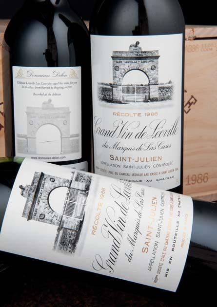 Château Léoville-Las-Cases 1978 Lots 113-115: All recent release; recorked at the Château...The nose is more complex and penetrating than the flavors.