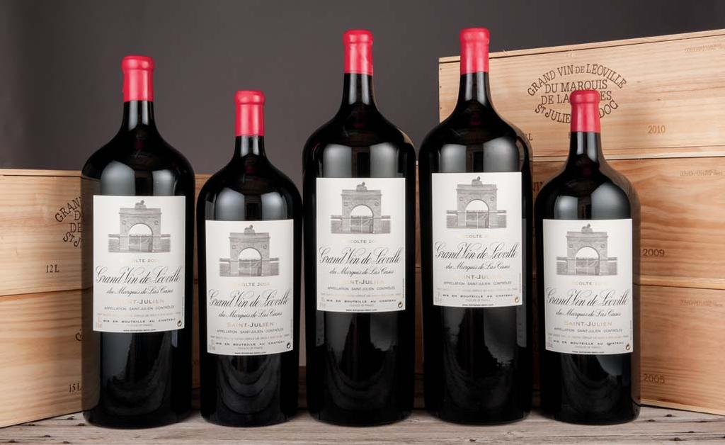 Château Léoville-Las-Cases 1990 Lots 146-155: All recent release; recorked at the Château...notions of sweet black cherries, black currants, lead pencil, and wet stones.