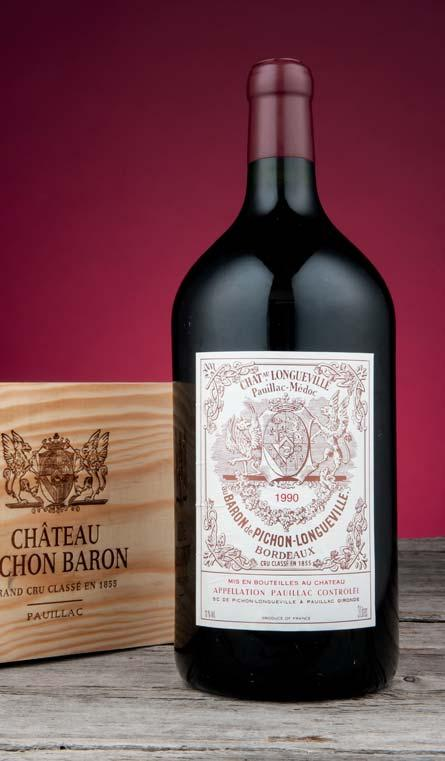 WINES OFFERED BY CHATEAU PICHON-LONGUEVILLE, BARON A phoenix rising from the ashes: Rebirth, rejuvenation, and reinvigoration.