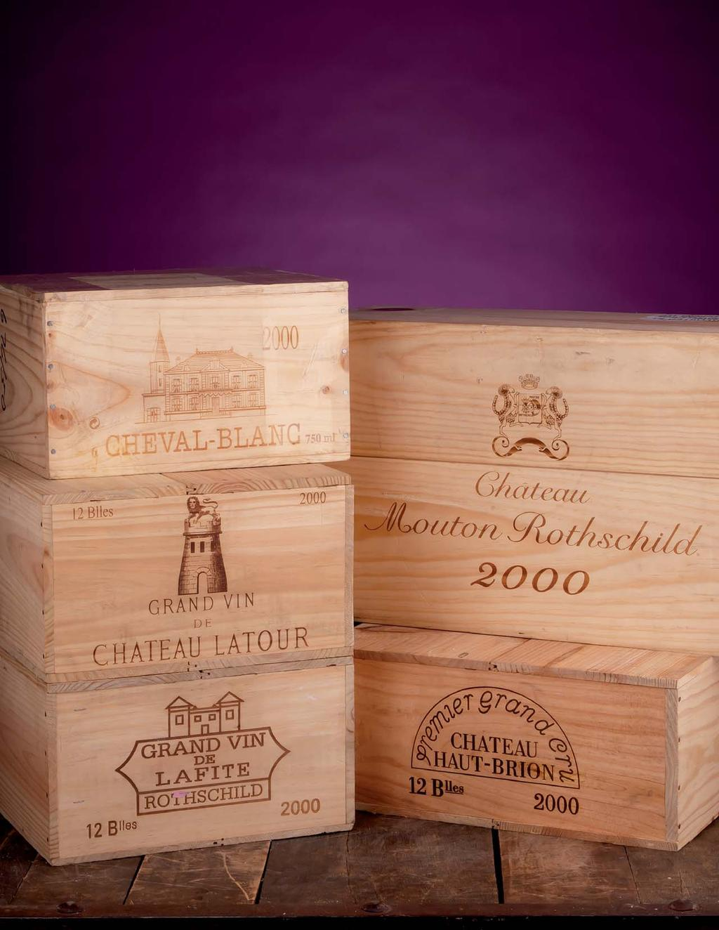FINE BORDEAUX Available 24 Hours a Day on our Outstanding Retail Website Exceptional Service from our Team of Experts State of the Art Website with Real-Time Inventory In Stock, Fully Inspected and