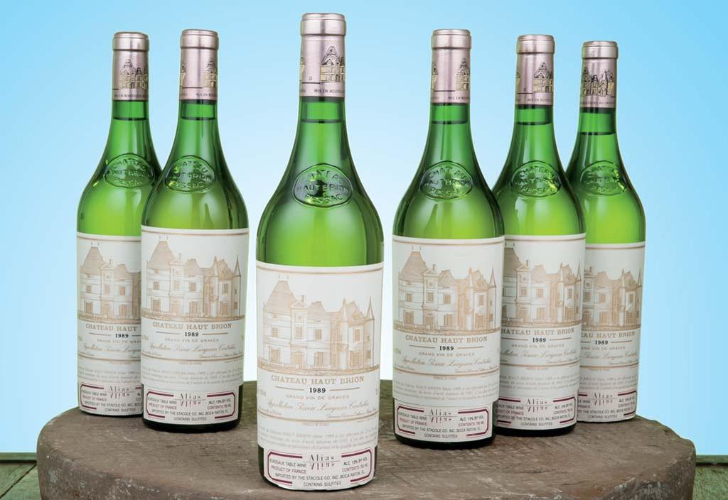Château Haut-Brion Blanc 1989 Pessac-Léognan...the most immense and large-scaled Haut-Brion Blanc I have ever tasted...rich, alcoholic, sumptuous wine...amazingly full and long in the mouth.