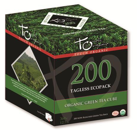 value-priced tea cube which includes 100 bags with string, tag and envelope - great for food service applications.