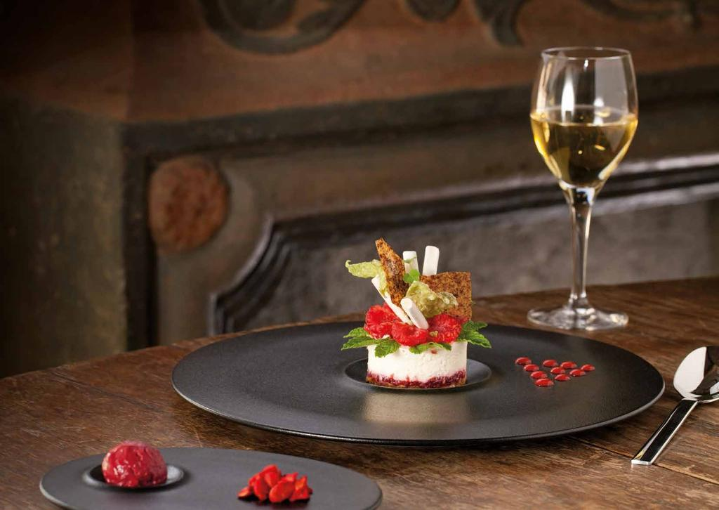 NEOFUSION VOLCANO INSPIRATIONAL DINING 49 En VOLCANO has an authentic character and an expressive simplicity.