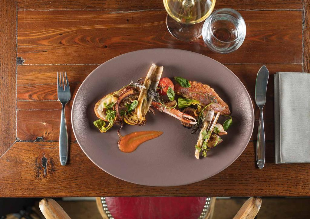 NEOFUSION MELLOW INSPIRATIONAL DINING 79 En The seductive feel of NEOFUSION MELLOW adds the right touch of colour to your dishes in soft tones.