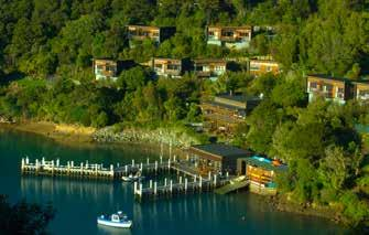 Brilliant PLACES TO MEET & AY Bay of Many Coves Arthurs Bay, Queen Charlotte Sound T: +64 3 579 9771 E: enquiries@bayofmanycoves.co.nz www.bayofmanycoves.co.nz The Perfect Setting.