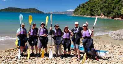 Based in Picton (heart of the Marlborough Sounds), Wilderness Guides offers hiking, biking and sea kayaking tours from just a few hours to the entire day.