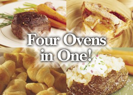 Great-tasting food up to 4 times The Advantium 120 oven helps you make