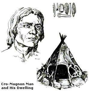 The technology of the Cro-Magnon people advanced far more rapidly than the technology of the Neanderthal people, which allowed the Cro-Magnons to live easier lives.
