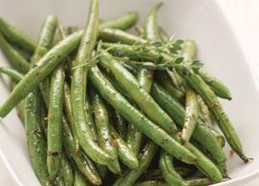 Rustic Herb Roasted Green Beans 1 pound fresh green beans, trimmed 2 tablespoons olive oil 1 tablespoon balsamic vinegar 1 tablespoon Rustic Herb Seasoning 1. Preheat oven to 400 F.