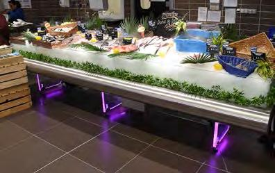 L2G-BM Productions is specialized in supply of equipment for fresh food laboratories for Hyper/ Supermarkets such as: fish displays, stainless steel tables, cutting tables, chopping boards,