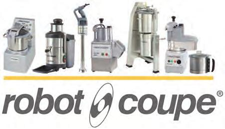 ROBOT- COUPE Booth S - C3 ROBOT-COUPE, French manufacturer of food preparation equipment, offers a wide range of machines adapted to each professional need (restaurants, institutions, delicatessens,