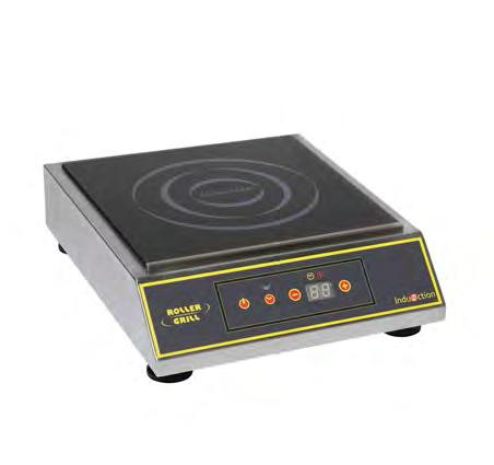 ROLLER GRILL Booth S - C1 French manufacturer of catering equipment with the widest range of products, ROLLER GRILL launchs a new range of high durable induction cooktops: intensive and non-stop use