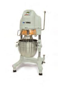 Originating from the development of bakery kneaders, VMI machines are used by almost all French artisans.