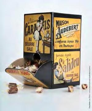 MAISON ARMORINE Booth Z6-A12-2 LA MAISON D'ARMORINE was created in 1946 and became very quickly well known for sweets, caramel cream and natural flavoured lollipops (Niniches of Quiberon).