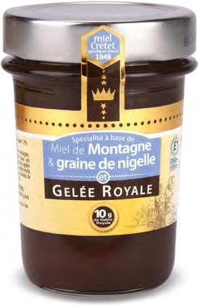 LES RUCHERS DU GUÉ Booth Z6-A15-6 MIEL CRETET is a family company, leader in the marketing of honey and honey-based innovation. We create 100% natural products for cathering and grocery stores.