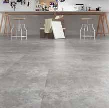Vinyl has the same rigidity as laminate flooring, and shares similar features and
