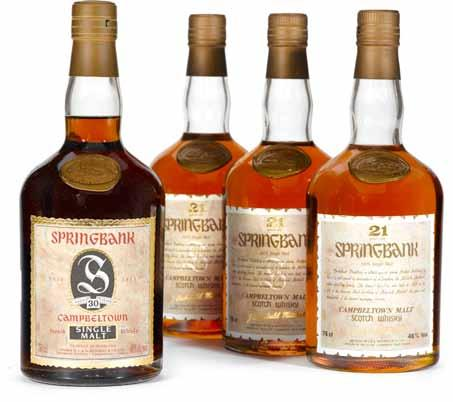 287 Speyburn-Glenlivet 1967-16 years old (1) Dumpy brown bottle. Distilled February 1967, bottled February 1983. Level: Top shoulder. 288 St. Magdalene 1962-20 years old (1) Dumpy brown bottle.