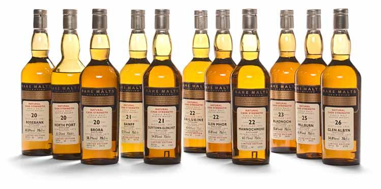 916 Port Charlotte PC-6 (2) Cuairt-Beatha. 750ml. 61.6%. 917 Port Charlotte PC-7 (2) Sin An Doigh Illeach. 750ml. 61%. 918 Banff 1982-21 years old (1) Rare Malts. 700ml. 57.1%. 919 Bladnoch 1977-23 years old (1) Rare Malts 700ml.