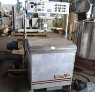 Chocolate Processing Buhler SFG-1000 5-roll refiner, 1000mm wide.