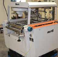 CEDA RS complete hollow chocolate forming line with wrappers 2 x Collmann hollow figure
